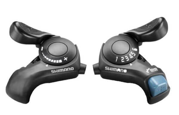 Комплект манеток SHIMANO SLTX30, 3х6